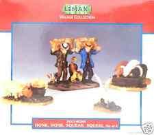 LEMAX Honk Honk Squeak Squeal Figurines New In Box