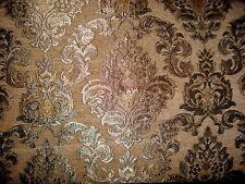 Polsterstoff Möbelstoff Stoff Barock Antik Neu Jaquard Chenille Webstoff Gelb