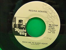 "Regina Howard First Love Never Dies  Signed 7"" 45 Single  Music City MC RH 005"