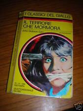 JOHN DICKSON CARR IL TERRORE CHE MORMORA 1968