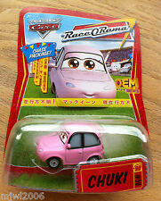 Disney PIXAR Cars CHUKI CHASE ! PACKAGE Race O Rama World of Cars diecast #90