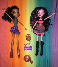 Monster High Doll LOT---*Dracubecca* Freaky Fusion & *Robecca* Dance Class (133)