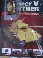 Panzer V Panther 1 : 16* Bauteil Nr. 31 + Heft*