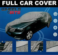Saloon Hatchback Car Cover UV Protection Waterproof Outdoor Breathable Material