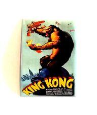 KING KONG - ORIGINAL 1933 FILM POSTER FRIDGE MAGNET - Metal New