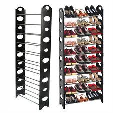 10 Tier Creux étagère Chaussure Storage Rangement Organizer rack stand