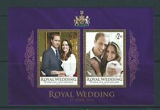 NEW ZEALAND 2011 ROYAL WEDDING PRINCE WILLIAM AND CATHERINE MS UNMOUNTED MINT,