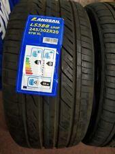 2X NEW CAR TYRES LANDSAIL LS588 245/30 ZR20 XL 97W A1 A/W QUALITY 245 30 20 B+B