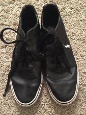 Men's Black Ralph Lauren Polo Hanford Sneakers, Size 11D