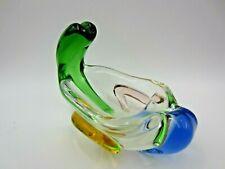More details for czech bohemian mstisov 'rhapsody' glass bowl frantisek zemek pipe rack ashtray