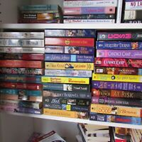 Mixed and Random Lot of 15 Romance Novel Mass Market Paperbacks No Duplicate