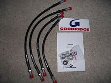 DeLorean DMC-12 Goodridge De Lorean DMC-12 Stainless Brake Line Kit.