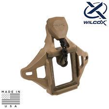 Wilcox 56100G35 L4 3-Hole Shroud & Helmet Lanyard Assembly - Tan