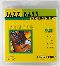 Thomastik-Infeld JF344 T-I Jazz Flatwound Bass Guitar Strings - Long Scale