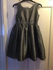 Lovely Girls Silver Grey Party / Event Dress by TU. Age 11