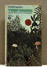 VERDI DIMORE - W.Henry Hudson [libro, oscar mondadori 696]