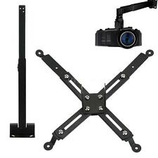 Universal LCD Tilt Extendable Projector Monitor Ceiling Wall Mount Bracket D0R5