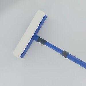 Telescopic Window Cleaner Brush Extending Squeegee Wiper Sponge Head 800mm