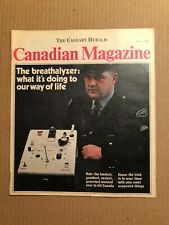 MAGAZINE ARTICLE: CANADIAN MAGAZINE, FRAN HUCK, RELUCTANT HERO, MAR 7, 1970