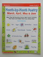 Month by month Poetry March April May June Marian Reiner Scholastic Verlag