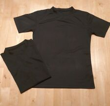 British MOD Police & Special Forces Cool max, Combat Black T-shirts size 180/100