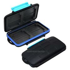 Memory Card Case Holder for 8x SDHC Cards MC-SD8 Waterproof Anti-shock