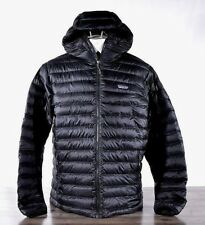 Patagonia Men's Down Sweater Jacket L Black 84701 Goose Puffer Winter Hoody NWT