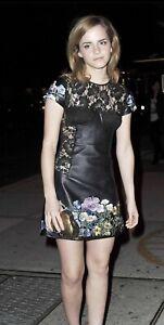 EMMA WATSON - IN A BLACK MINI DRESS !!