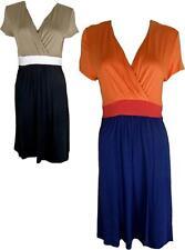 Unbranded V-Neck Short Sleeve Dresses Work