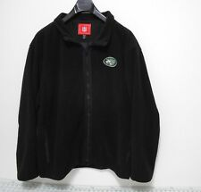 NY JETS Fleece Jacket - Men's Size XL - New York NFL Official Full Zip Sweater