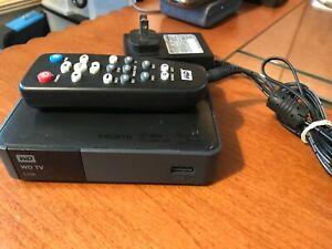 Western Digital WD TV Live Streaming Media Player C3H WDBHG70000NBK-01