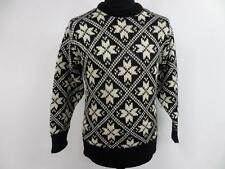"Women Eskimo Vintage Snowflake Knit Novelty Sweater Jumper 36"" Grade A BA368"