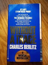 Without a Trace, Charles Berlitz, Ballantine Books 1978, Mystery E-79