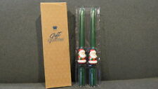 Avon Santa Claus Tapers - Gift Collection - Set of 2 Candles - Nib