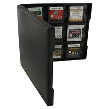 Game case POUR 3 DS & DS 18 Jeux de Voyage Boîte de rangement noir ZedLabz