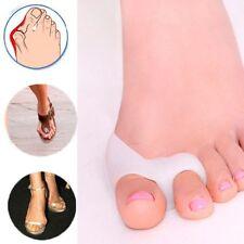 Gel Silicone Bunion Corrector Toe Protector Straightener Spreader Separator OP