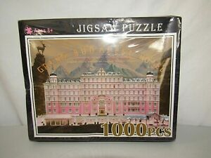 THE GRAND BUDAPEST HOTEL 1000 PC JIGSAW PUZZLE** NEW