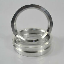 Wheel Hub Variable Centric Hole Rings Spacer OD=71.6mm ID=60.1mm Aluminium Alloy