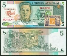 5 Pesos NDS 150 Years FIRST PHILIPPINE STAMP 1854-2004 Commemorative Banknote #1