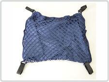 Rollstuhlnetz Einkaufsnetz mit Innenfutter für Rollstuhl, blau