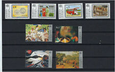 Stamp mauritius/mauritius lot of 2 series nine n ** apc stamps without charni