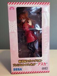 Evangelion Asuka Langley Soryu Premium Winter Coat Figure NIB