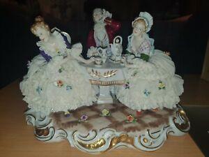 Dresden Lace Porcelain Group