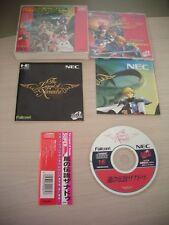 >> KAZE NO DENSETSU XANADU RPG PC ENGINE SUPER CD JAPAN IMPORT!WITH OBI SPIN! <<