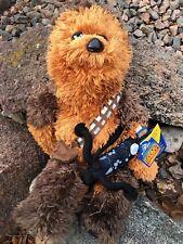 Build a Bear 18 in. Star Wars Chewbacca Bear w/Sound & Bowcaster  - STUFFED- New