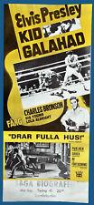 ELVIS PRESLEY ORIGINAL FILMPLAKAT KID GALAHAD 1962 HARTE FÄUSTE - HEISSE LIEBE