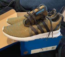 Adidas Men's Sl Loop Ct Originals Running Shoe camo snake skin green size 9