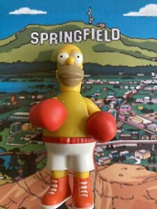2001 The Simpsons Boxing Homer WOS Figure WOS World Of Springfield