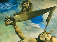 Framed Print - Salvador Dali (Surrealist Painting Picture Poster Abstract Art)