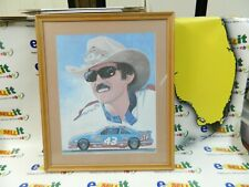 "Richard Petty Autographed Print  ""The Print Measures 19""x15"" Comes With COA"